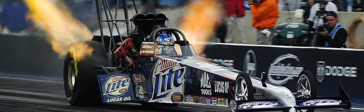 Miller Lite Top Fuel Dragster