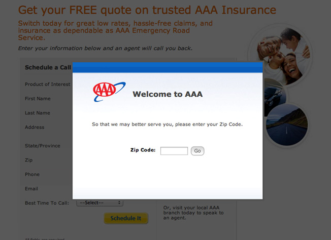 aaa-landing-page